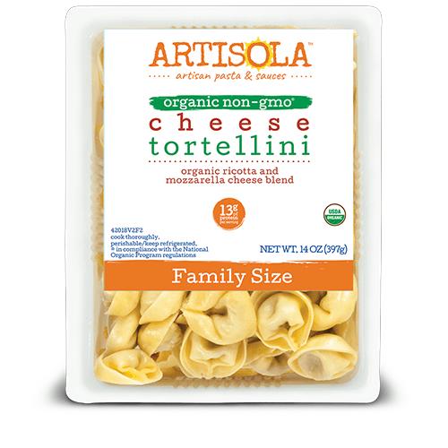 Organic Cheese Tortellini Family Size