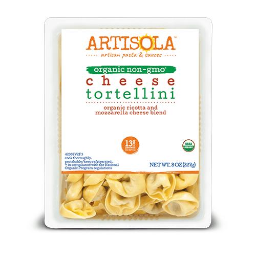 Organic Cheese Tortellini